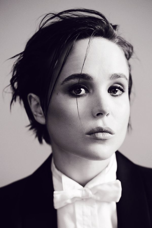 Ellen Page: Ellen Page - OUT Magazine - December 2014Photographed by JUCO