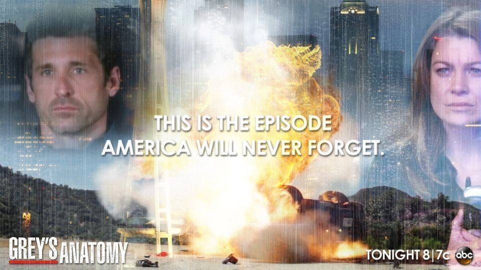 This is the episode America will never forget. #GreysAnatomy is all ...