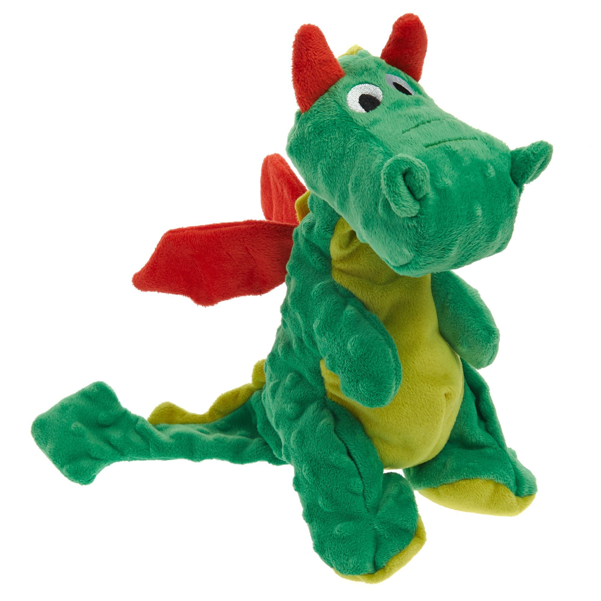 Top Paw Tuff With Bite Shield Protection Dragon Dog Toy Crinkle