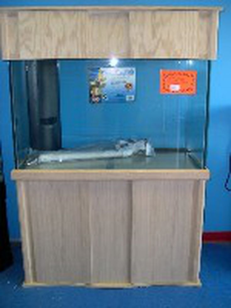 DIY (Do It Yourself) Aquarium Cabinet And Stand Plans And Instructions