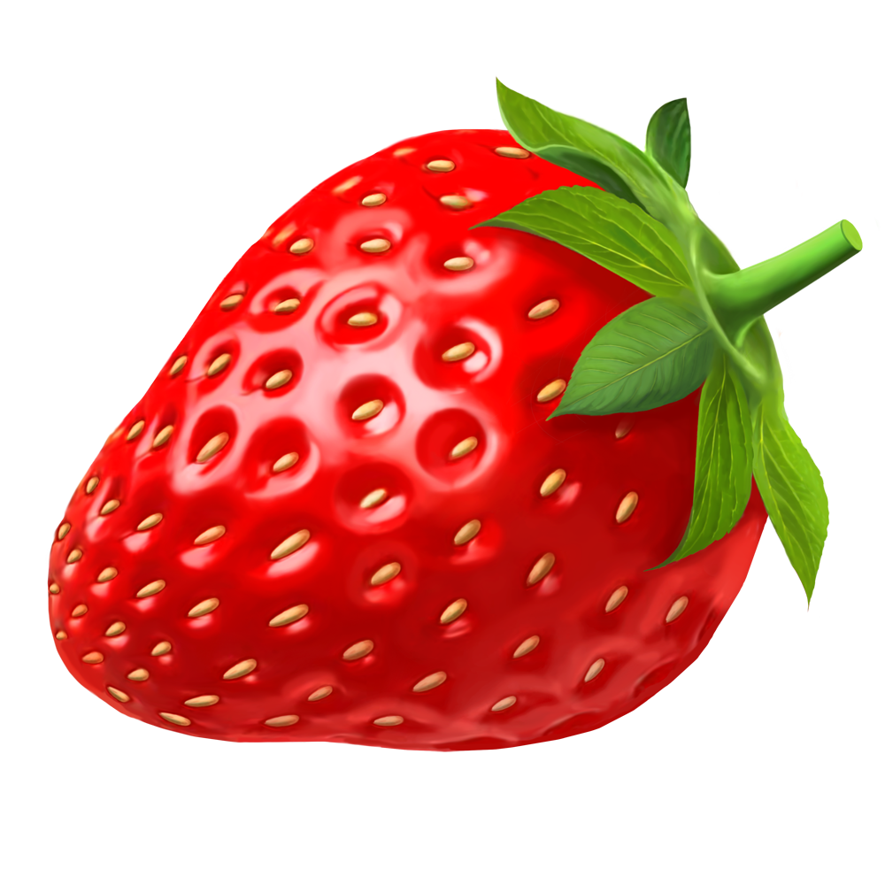 download clipart strawberry [ 1000 x 1000 Pixel ]