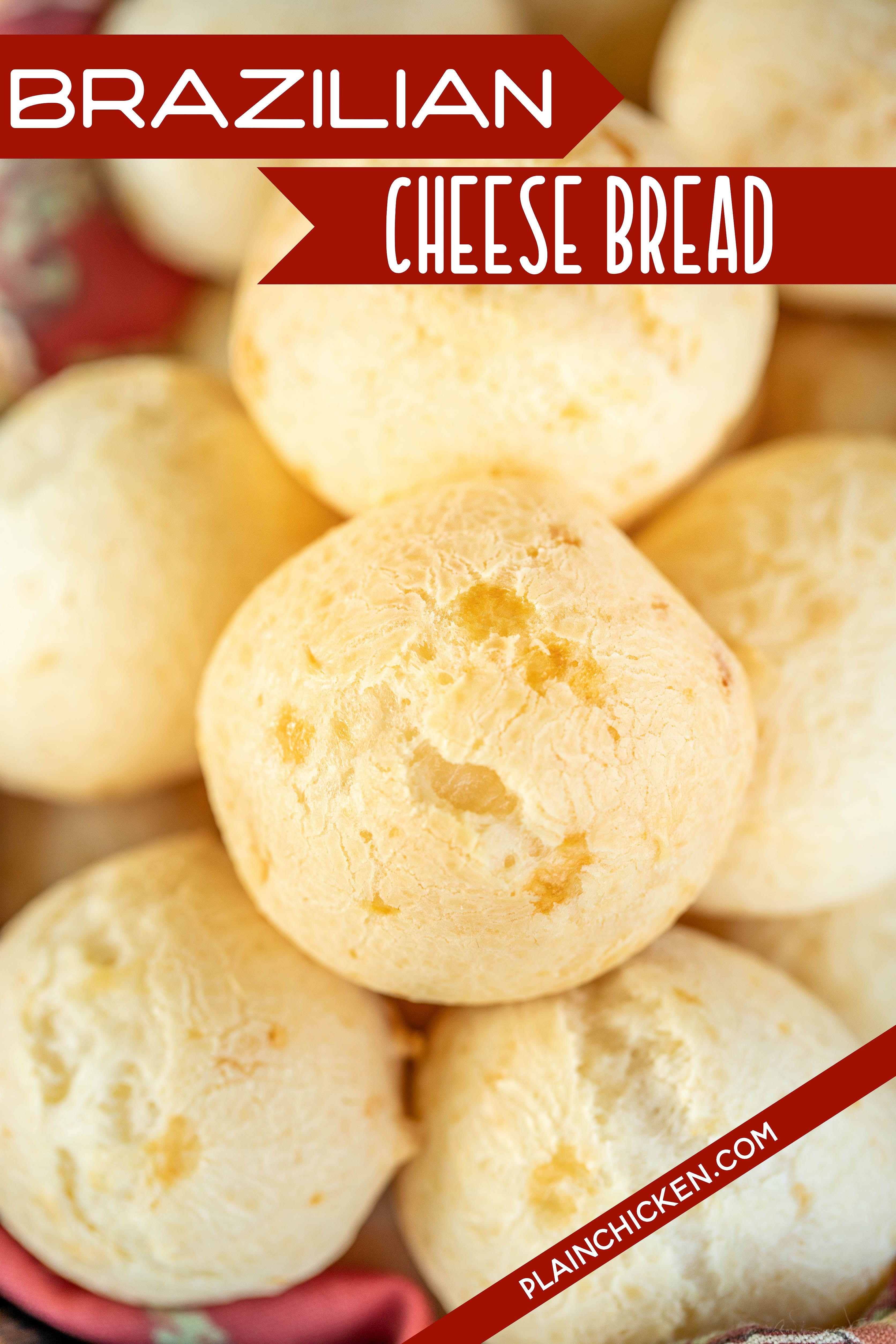 Brazilian Cheese Bread Pao De Queijo Brazilian Cheese Bread Cheese Bread Bread