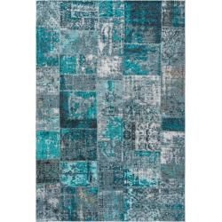 Photo of River – Blue rug 80×200 Modern, runner rug RugvistaRugvista
