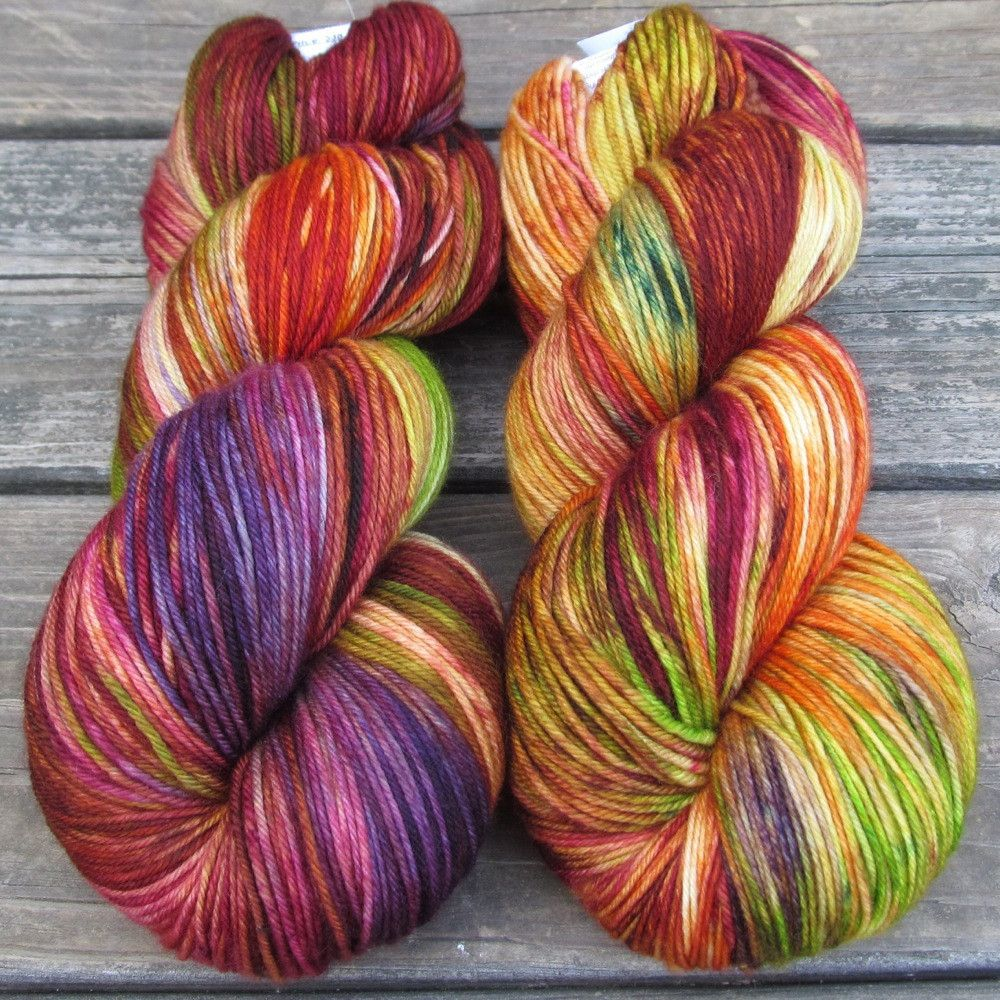 Wonderful Day - Yowza - Babette | Miss Babs Hand-Dyed Yarns & Fibers, Inc.