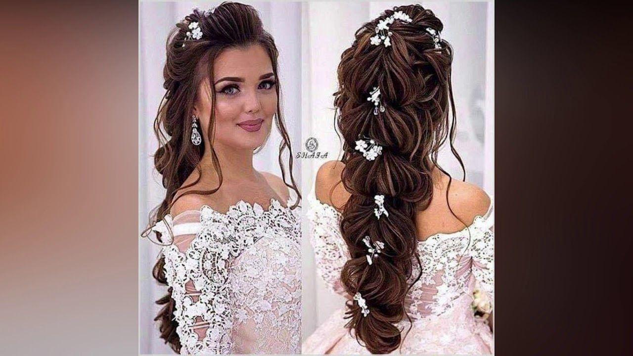 تسريحات شعر للعروس غاية في الرقة والرومانسية 2019 Elegant And Romantic Bridal Hairstyles Collection Hair Styles Hair Beauty
