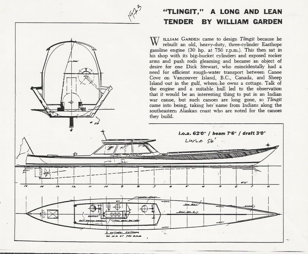 Tlingit by william garden planes boats other vehicles for William garden designs