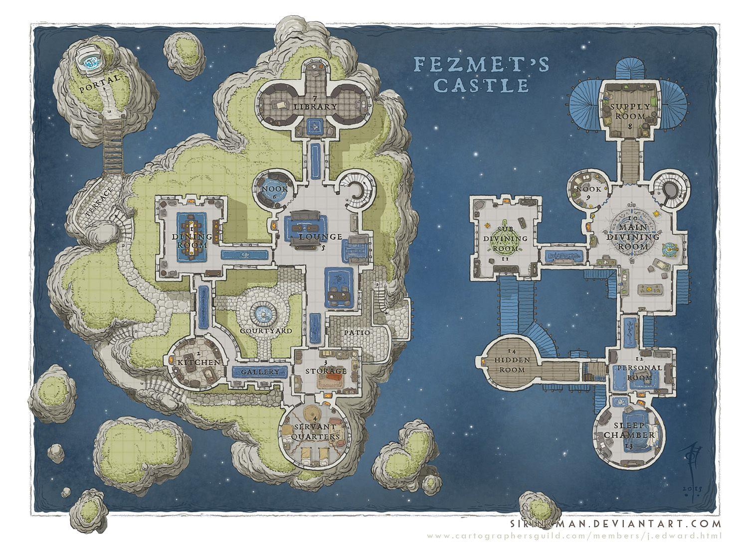 done in ps i was contracted by drop dead studios to produce a series of maps for their upcoming wizard academy adventure module for pathfinder