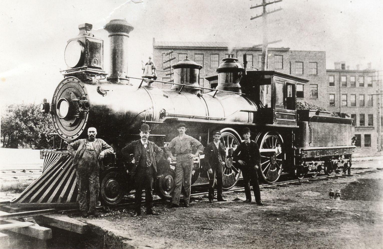 "Image result for 1881, Housatonic Railroad #12 Locomotive and Crew   Old Railroads   Pinterest   Locomotive, Train and Train Engines."" Pinterest, Pinterest, www.pinterest.com/pin/387028161703507957/?lp=true."