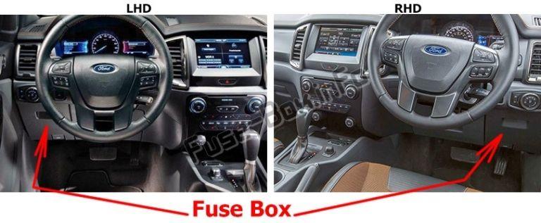 kia sorento fuse box location ford ranger  2019     fuse box location  with images  ford  ford ranger  2019     fuse box
