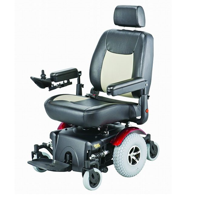 Vision Super Heavy Duty Power Chair Powered Wheelchair Electric Wheelchair Super Powers