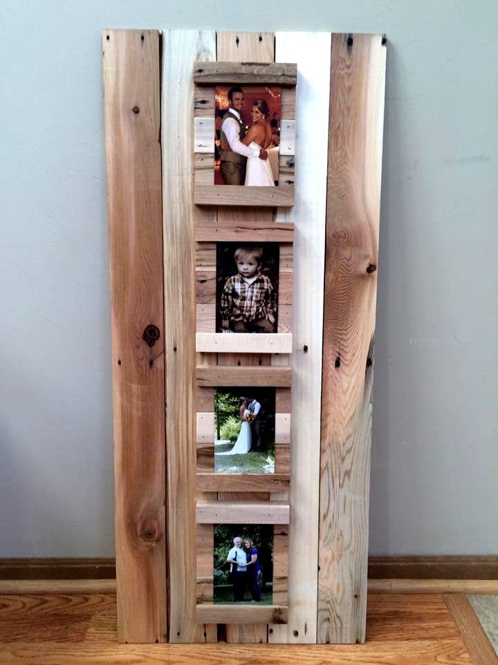 marco para fotos de palets   Decoración de paredes   Pinterest ...