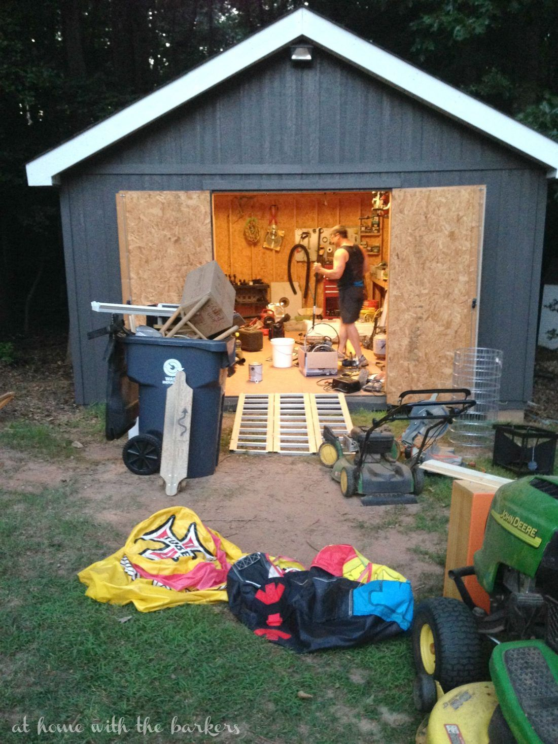 Framing A 10x10 Room: One Room Challenge Shed Inspiration