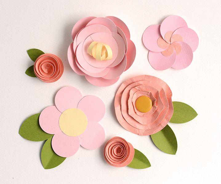 Make Easy Paper Flowers: 5 Fast & Fun Tutorials