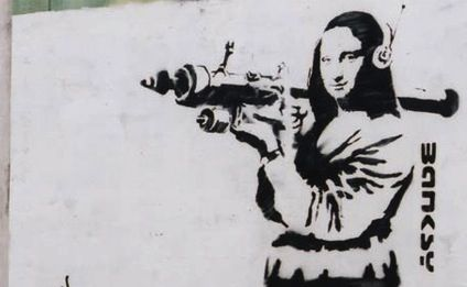 and more banksy