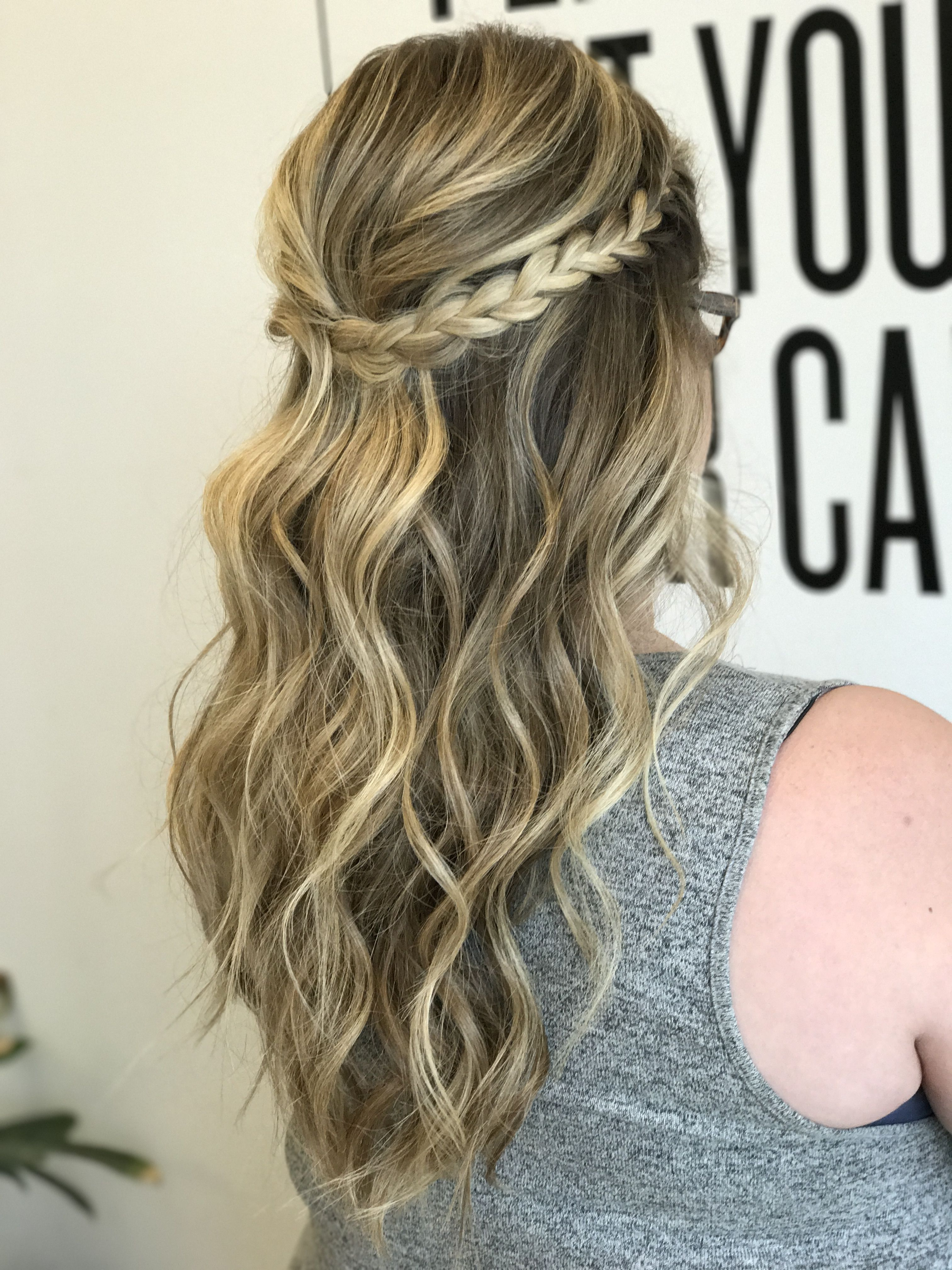 Half uphalf down Updo in Pinterest Wedding Hairstyles