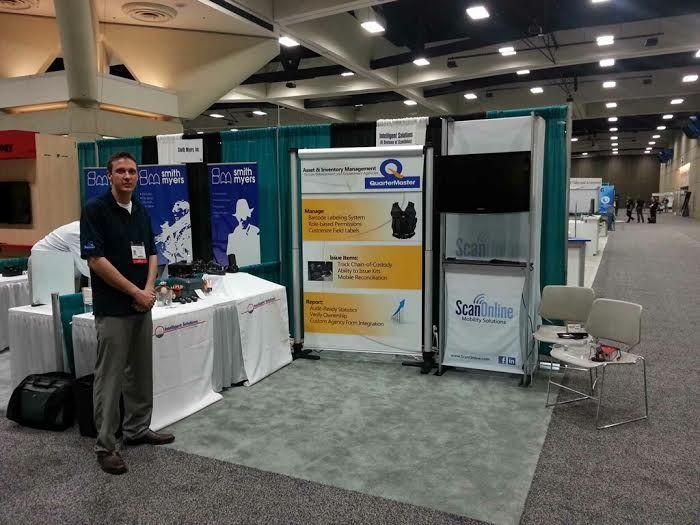NATIA 2014 - Tim Langer, ScanOnline Software Sales, presenting QuarterMaster Software in San Diego, CA.  August, 2014