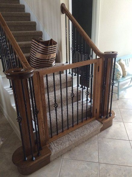 Baby/dog gate Home goods Baby gates, Stair gate, Diy