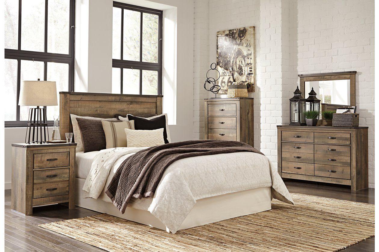 Trinell Queen Panel Headboard Ashley Furniture Homestore Bedroom Furniture Sets King Bedroom Sets Rustic Bedroom Furniture