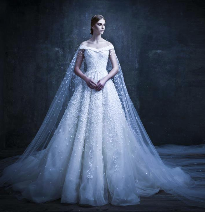 Michael Cinco Wedding Dresses 2014 With Show-Stopping