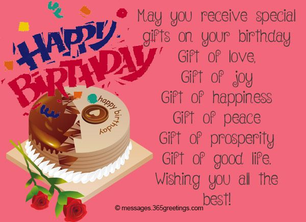 Birthday Wishes For Brother Birthday Messages Birthdays And Happy Birthday Wish You All The Best In