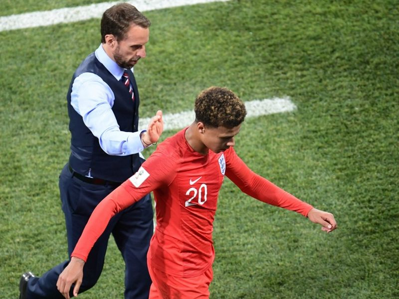 Soccer Dele Alli injury: Tottenham midfielder offers England headache as thigh strain confirmed - The Tottenham midfielder was unable to complete an opening World Cup clash with Tunisia and will now have to shake off a knock to feature again Dele Alli has handed England a World Cup injury headache with scans revealing that the midfielder has suffered a slight thigh strain. The Tottenham star headed to Russia with high hopes of playing a leading role for the Three Lions on the grandest of