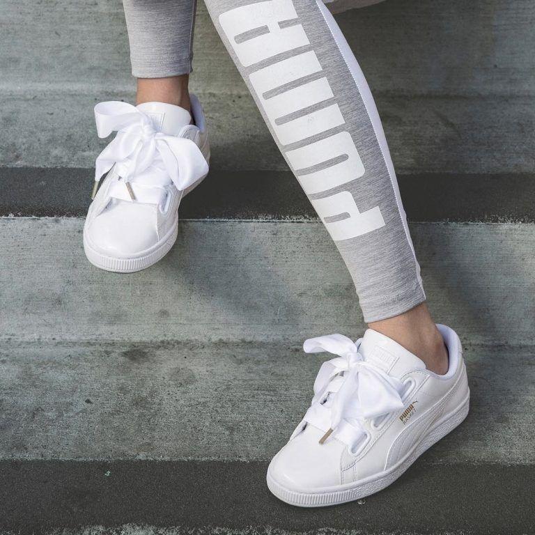 chaussure puma femme heart patent