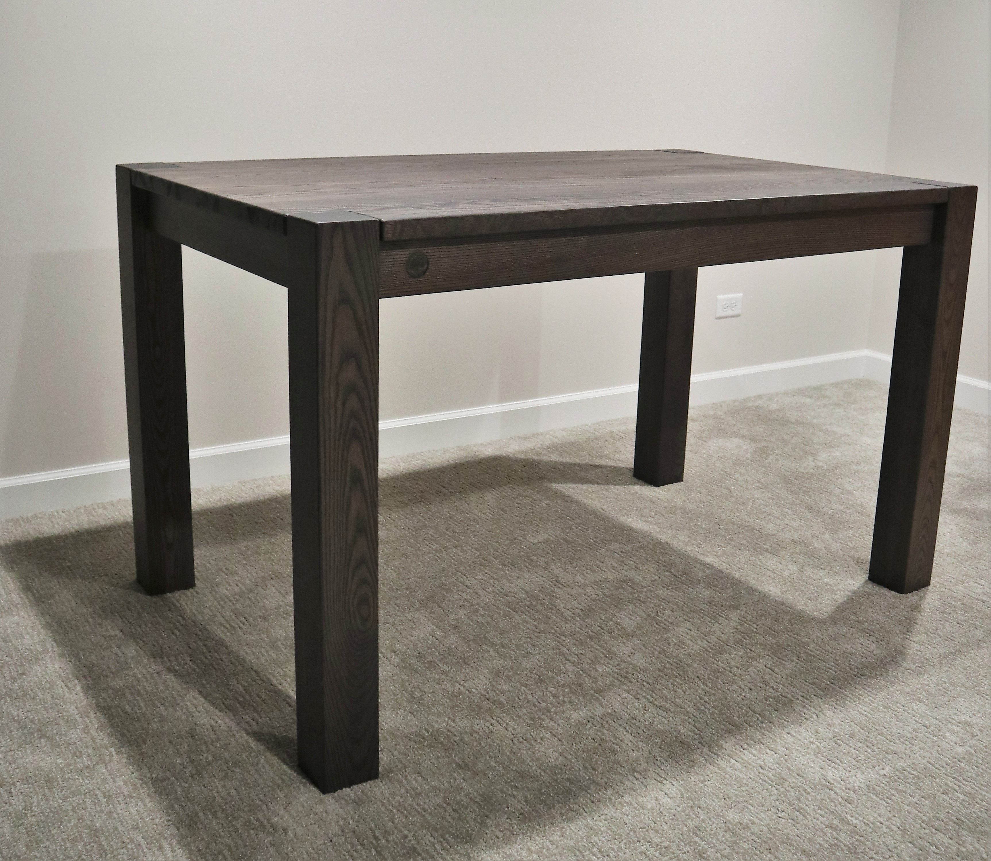 The Average Height For Our Custom Tables Is Around 30 Inches Here