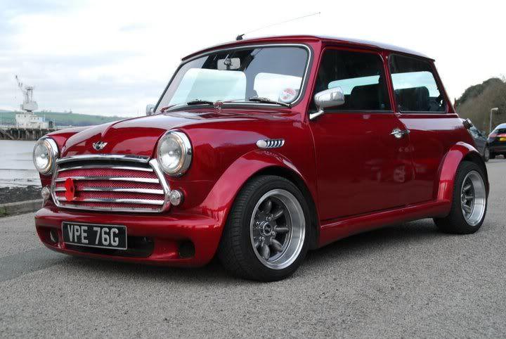 Incredible Looking Majic Kit On Classic Mini Cars Mini Cooper