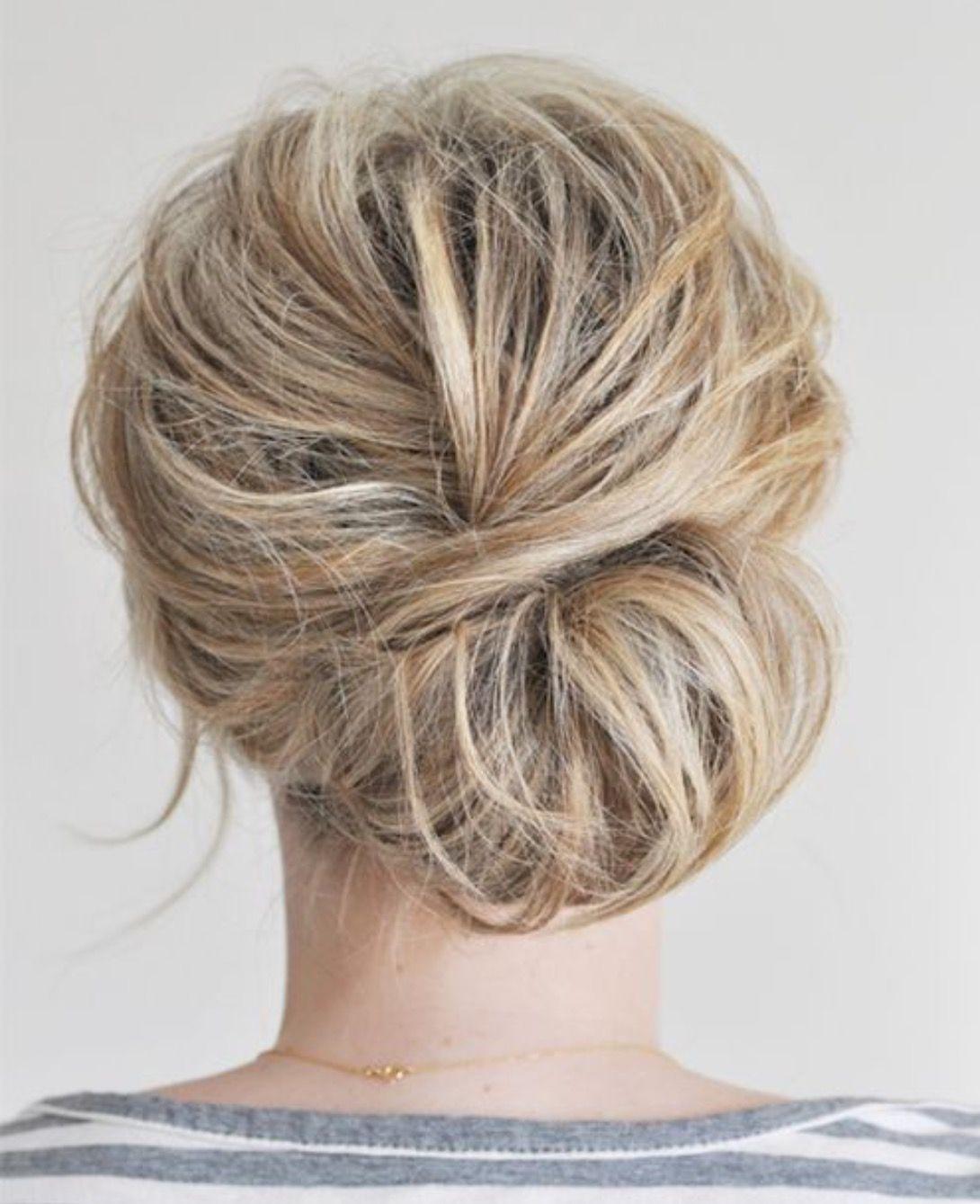 Pin By Rachel Smith On Hair Dos Hair Styles Chignon Hair Hair Beauty