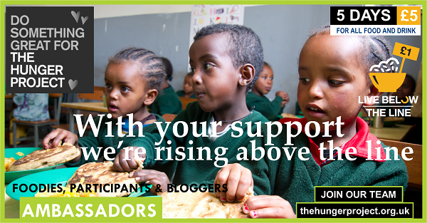 Not only are these kids (including the girls) in school for the first time, the whole community came together to build the school building themselves. Join Live Below the Line and support The Hunger Project so many more can rise. http://www.thehungerproject.co.uk/getinvolved/live-below-the-line