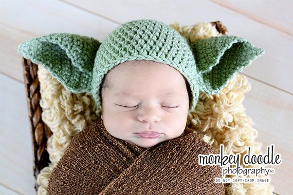 Yoda crochet beanie baby hat made to order treasury item on etsy yoda crochet beanie baby hat made to order treasury item on etsy 1500 dt1010fo