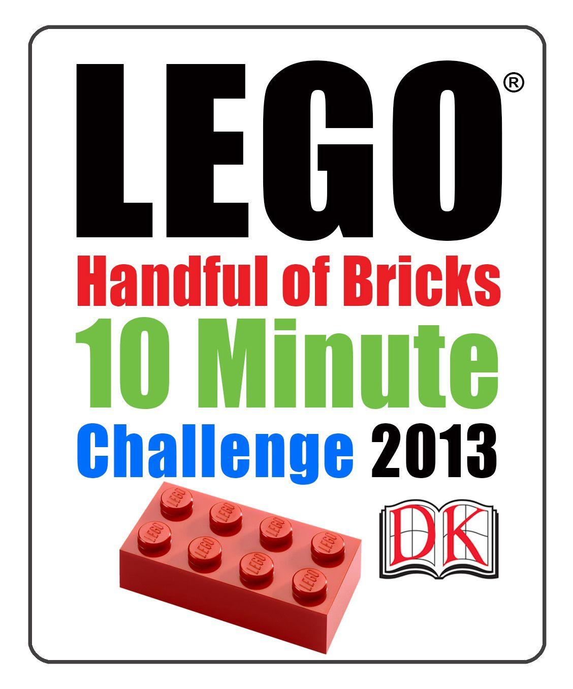 Lego Handful of Bricks 10 Minute Challenge | Lego, Bricks and Lego club
