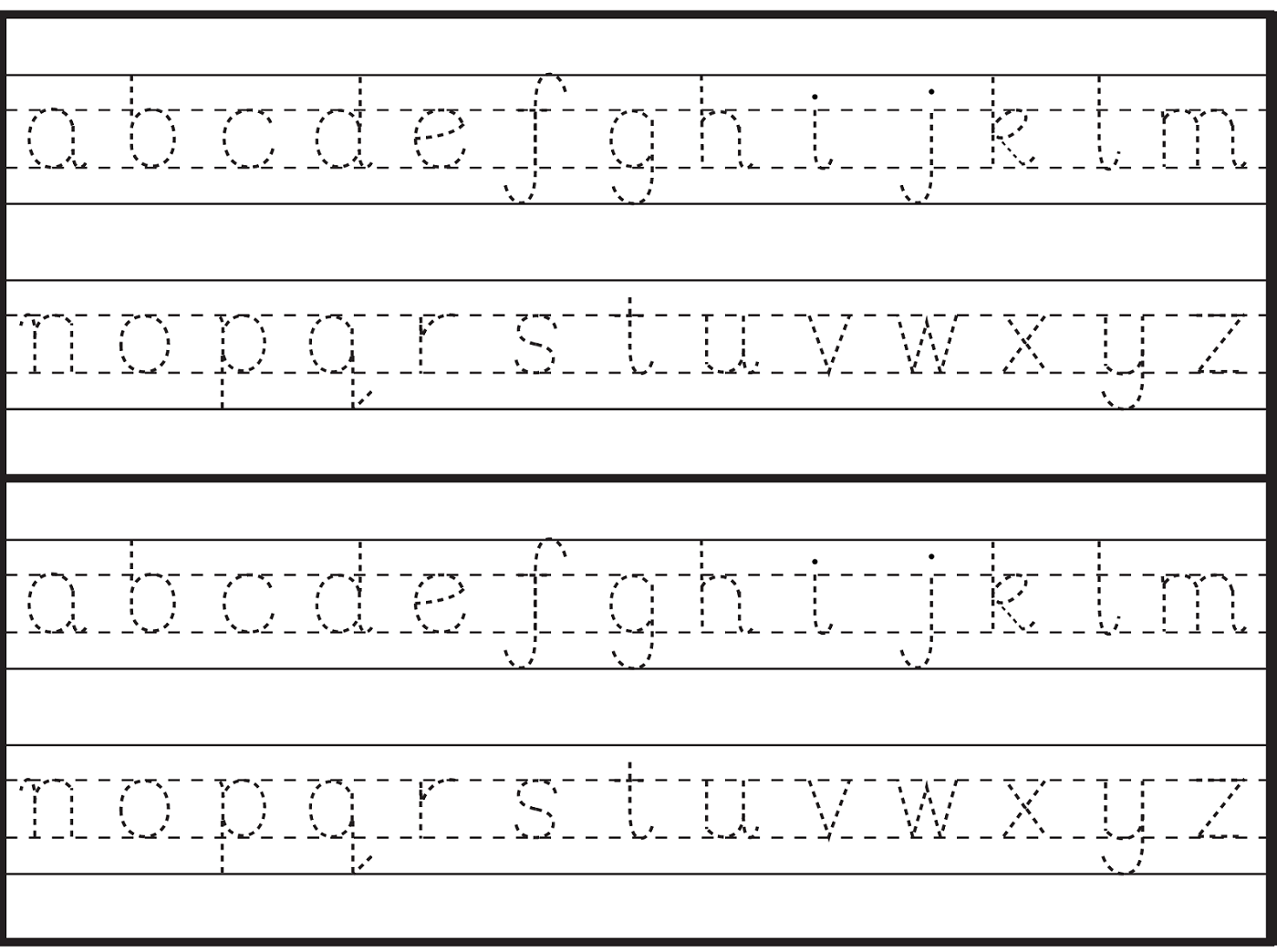 English Alphabet Worksheet For Kindergarten With Images