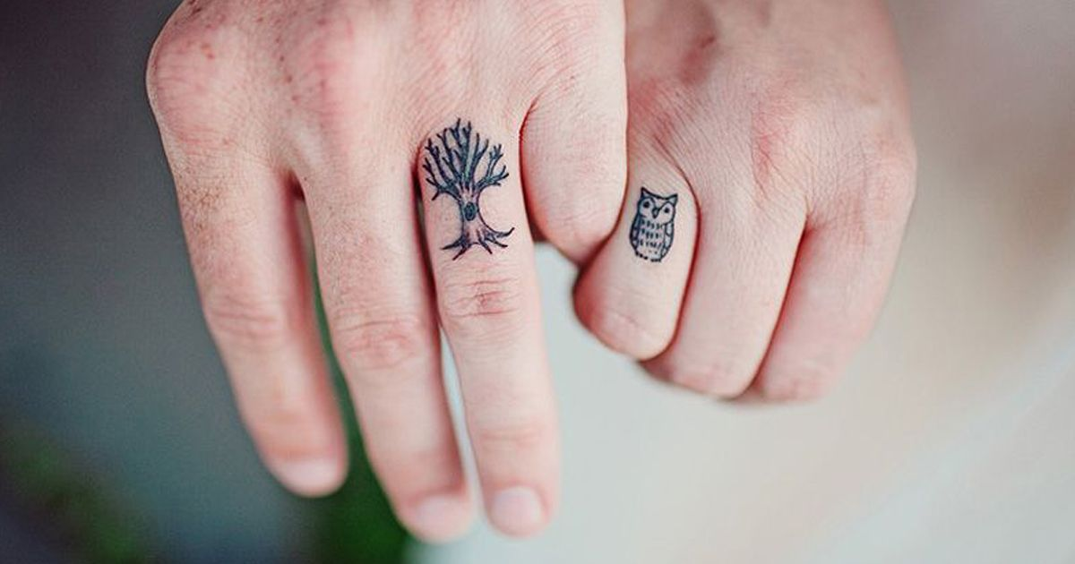 53 Brave Couples Who Chose Matching Wedding Tattoos Instead Of Rings Matching Tattoos Wedding Tattoos Cute Matching Tattoos