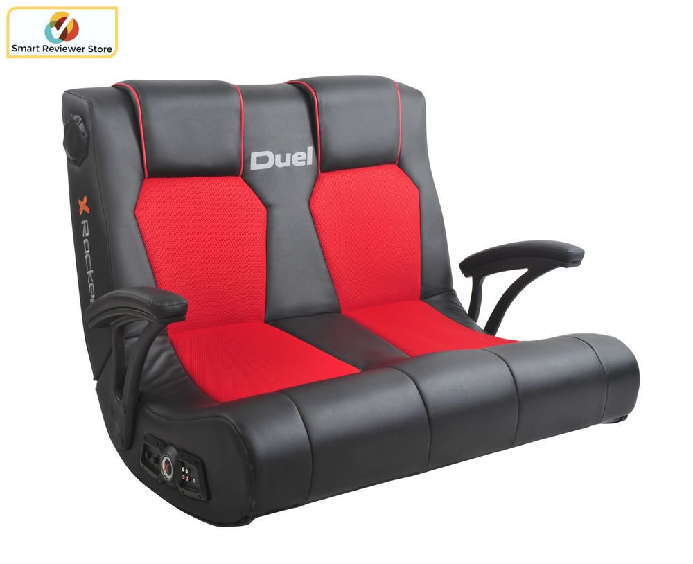 Wondrous Ergonomic X Rocker Dual Commander Gaming Chair 2 1 Audio Gmtry Best Dining Table And Chair Ideas Images Gmtryco