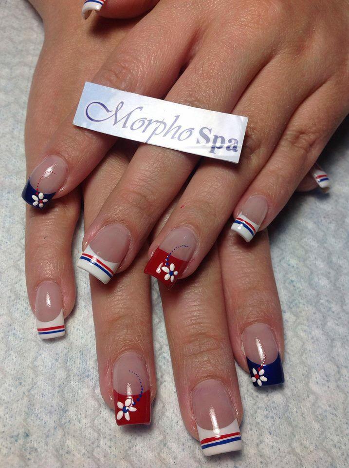 patriotas flores nails pinterest fingern gel nageldesign und elbe. Black Bedroom Furniture Sets. Home Design Ideas