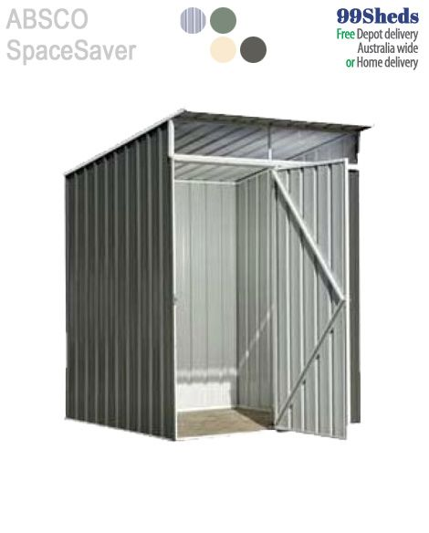 Absco Daylite Daylight 389 Garden Shed 30 Year Warranty So Tough Too Easy Brand Absco Model Spacesaver 15151d Slanted Door Types Of Doors Garden Shed