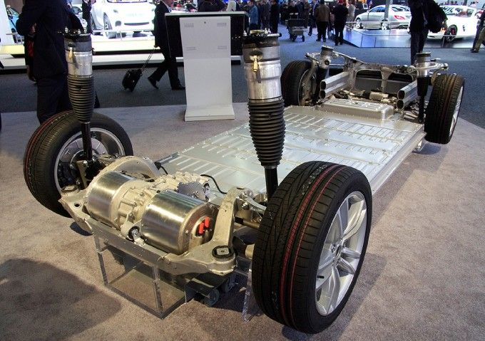 Tesla S Chassis Electronic Vehicles