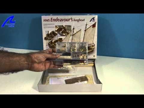 Endeavour Longboat - Construye la lancha del capitán del famoso HMS Endeavour, botado en 1765 y comandado años más tarde por el célebre James Cook. --------- The H.M.S. Endeavour was launched in 1765. She was prepared three years later for a voyage under the command of Captain James Cook.