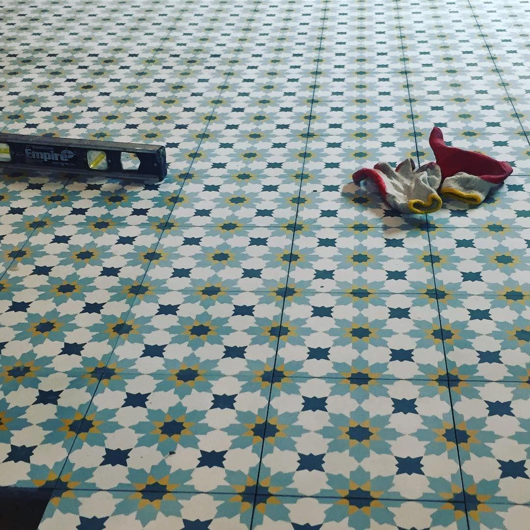 Cement Tile Shop - Encaustic Cement Tile Rabat Gold   ריצוף ...