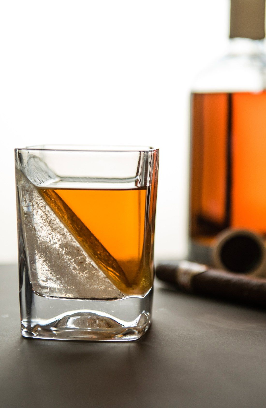 Photo of Corkcicle 'Whiskey Wedge' Double Old-Fashioned Glass | Nordstrom
