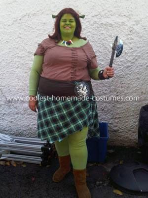 Coolest Princess Fiona Costume  sc 1 st  Pinterest & Coolest Princess Fiona Costume | Fiona costume Princess fiona and ...
