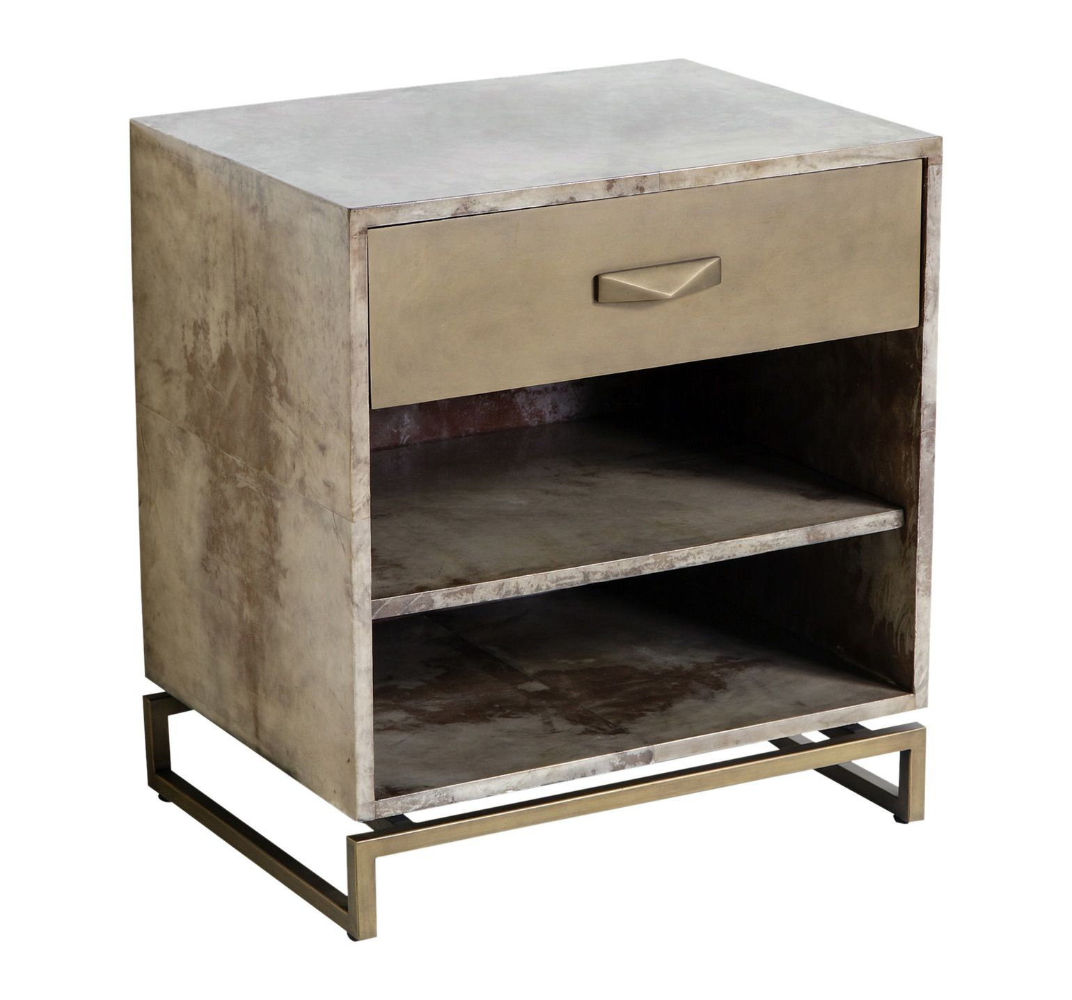 Modern Metal Nightstands