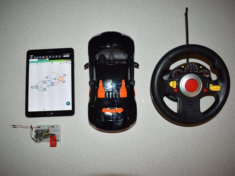 Nio App Alternative to Handheld RC App, Smartphone