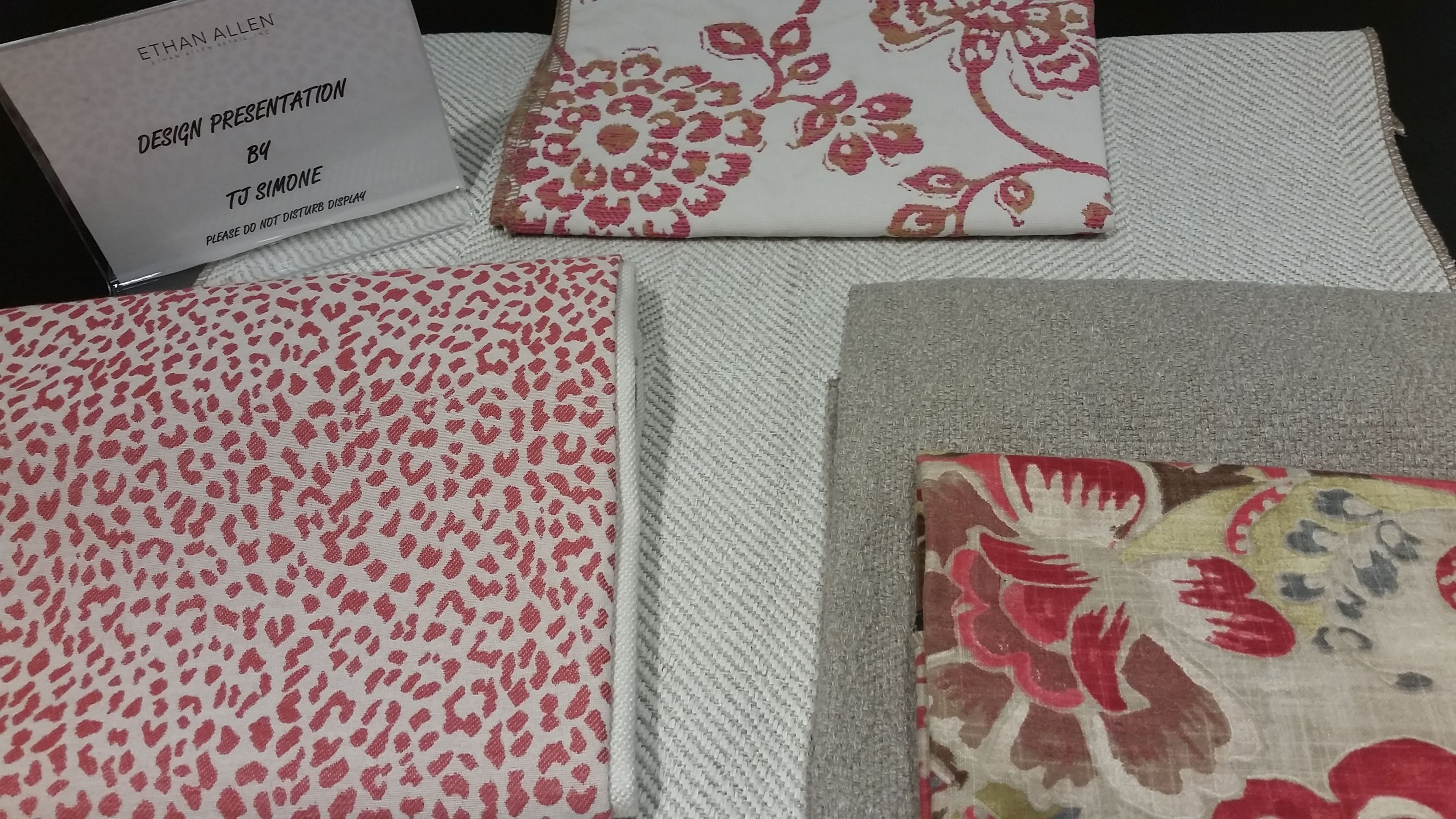 A beautiful color palette with shades of pink and tan tj simone