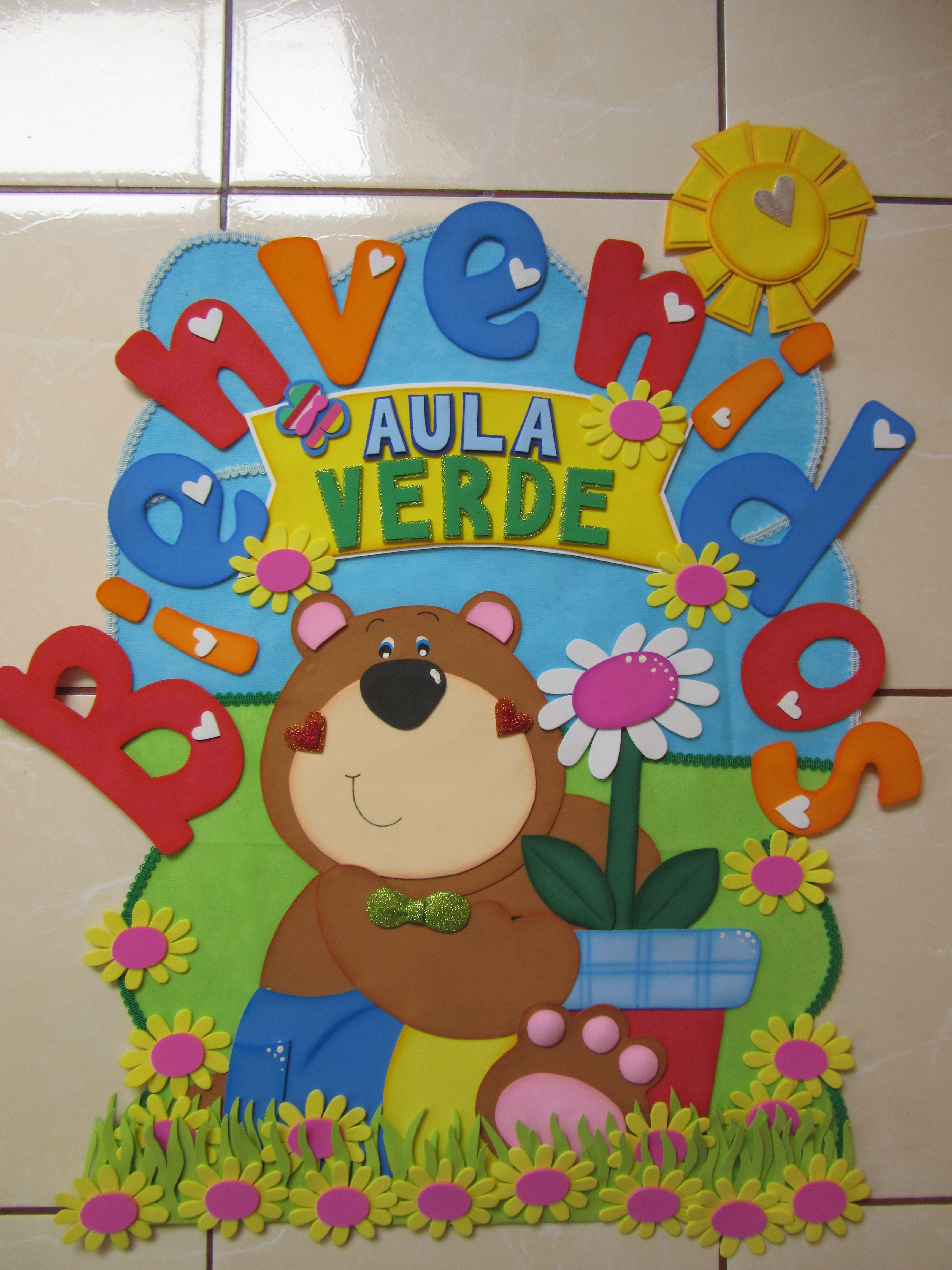 cartel para puerta ambientaci n de aula jard n de ni os