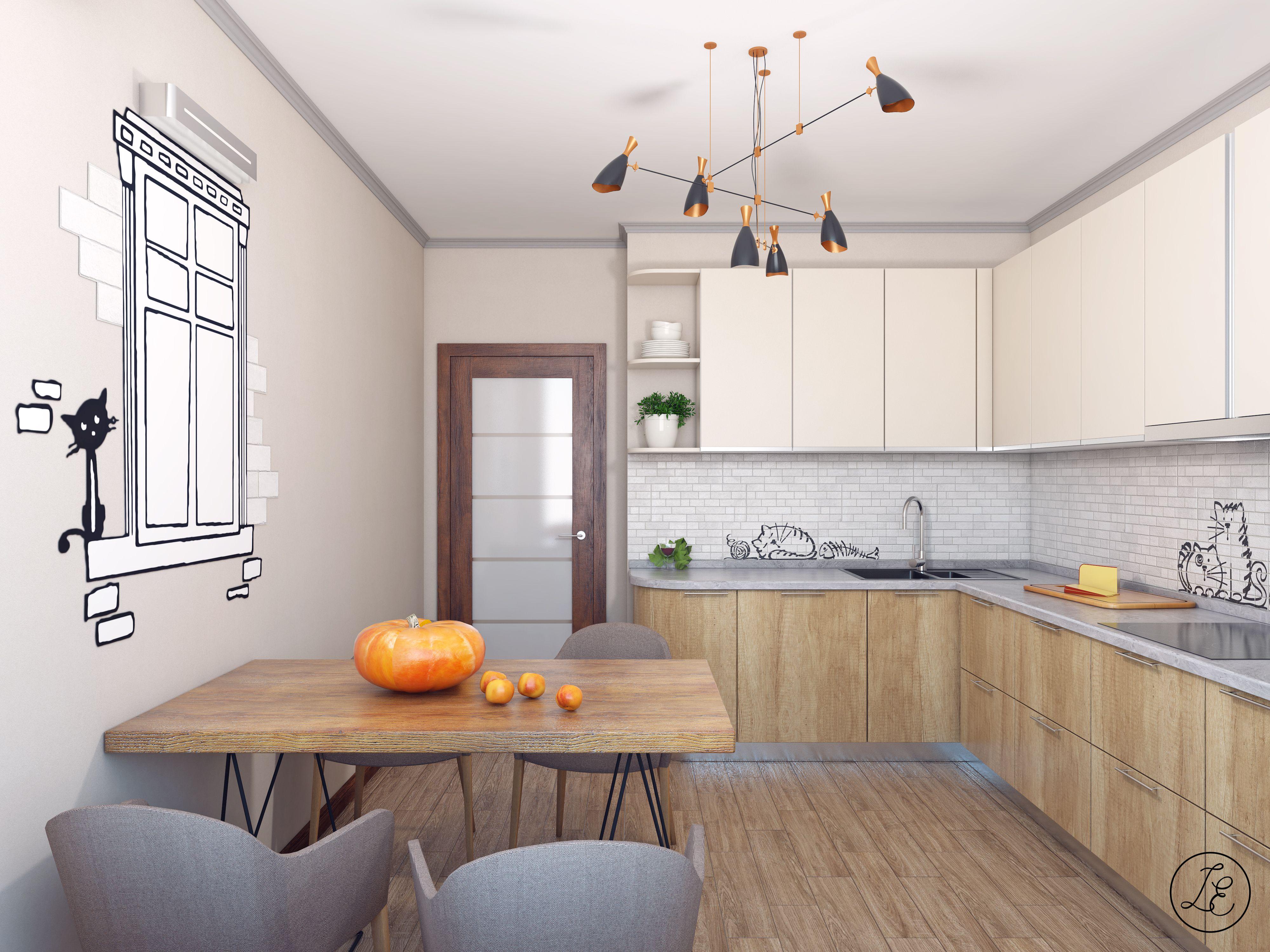 Interior design reative fairytale apartment Kitchen Designer