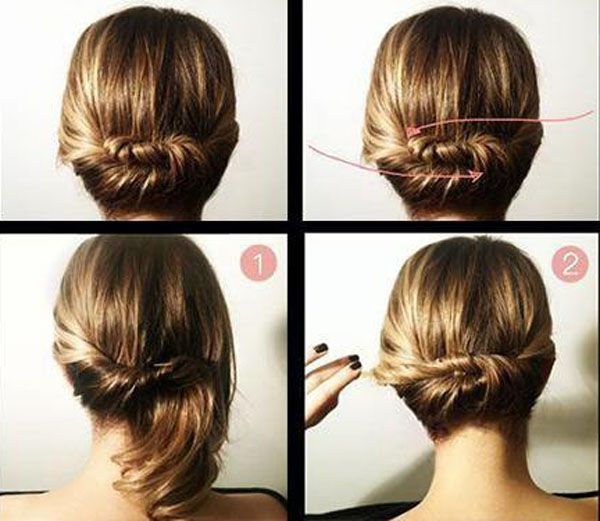 How to Make Cute Hairstyles for Medium Length Hair | My Look Book ...