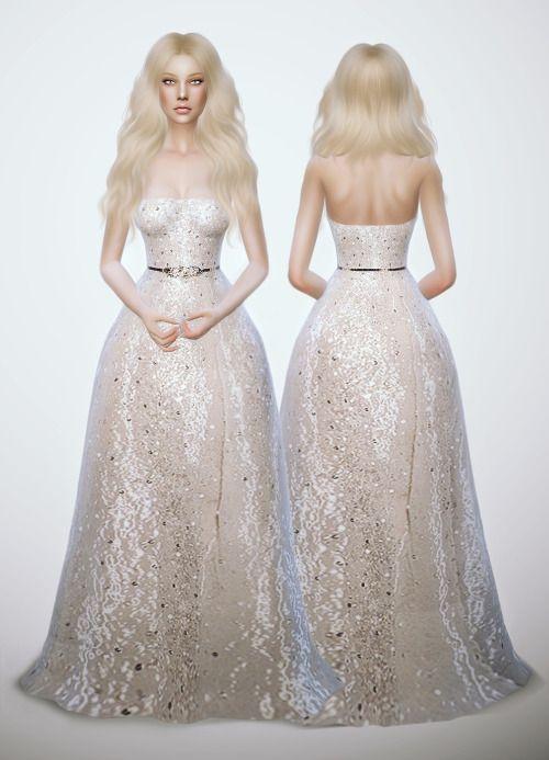 Peinados de novia sims 4