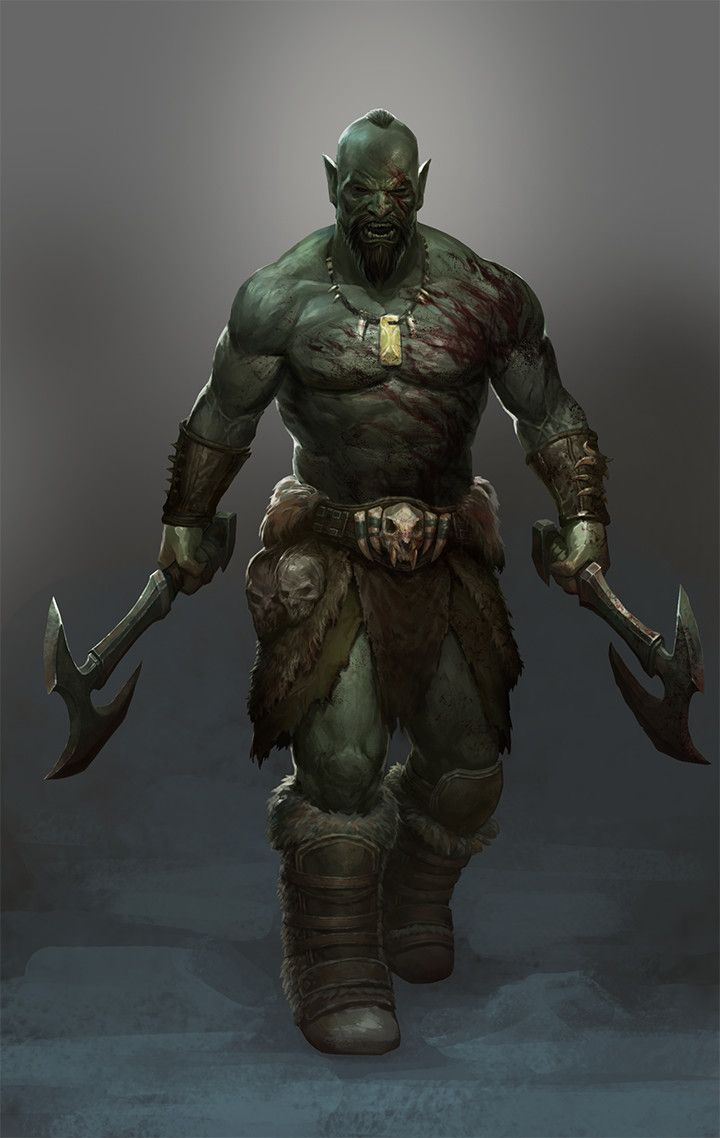 the orc essay He showed me his new scars, he climbed the ranks, and started working with an  orc named dûshrat—yes, i know i imagined they were.
